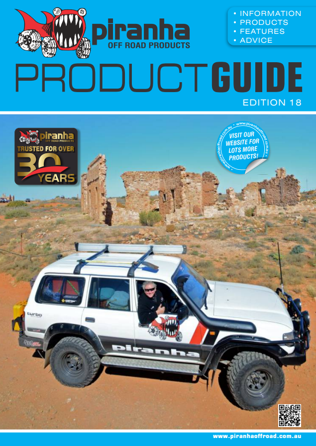 Piranha Off Road Product guide